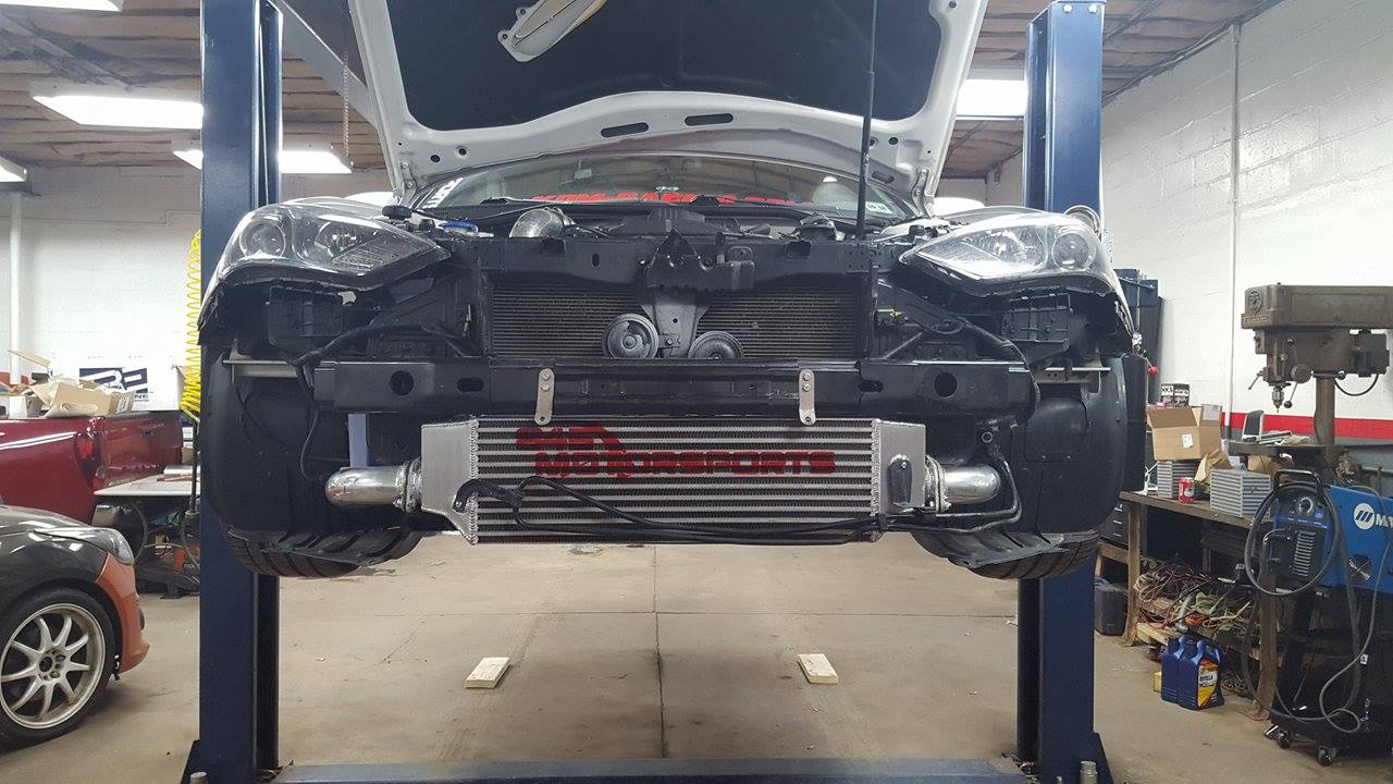2013 Hyundai Genesis Coupe For Sale >> 2013+ Genesis Coupe stock replacement intercooler   845 Motorsports
