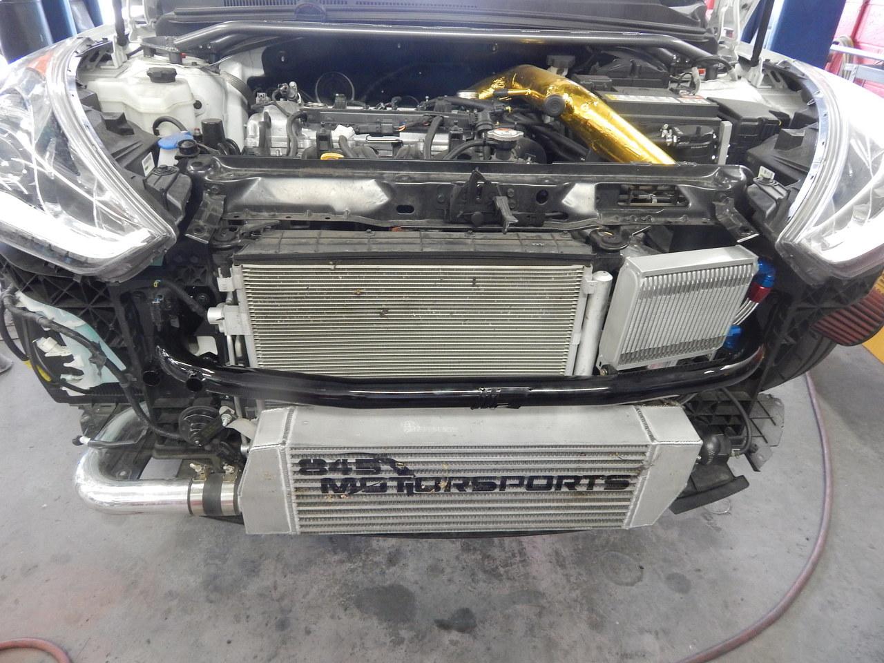 Piercemotorsports Veloster Turbo Oil Cooler Kit 845